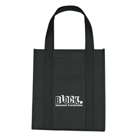 Matte Laminated Non-Woven Logo Shopping Tote Bags