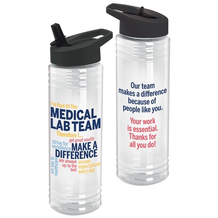 Medical Lab Team Water Bottle Gifts