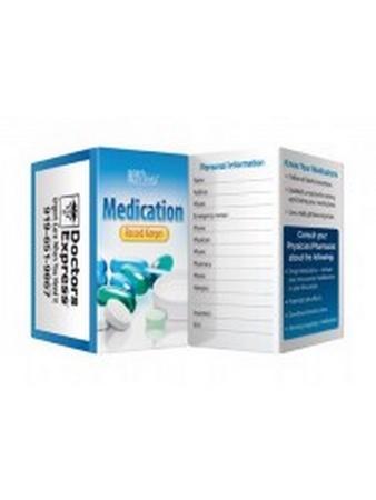 Medication Pocket Record Keeper