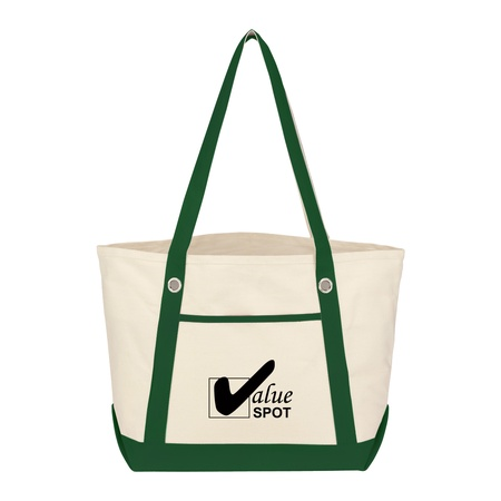 Medium Cotton Canvas Custom Sailing Totes