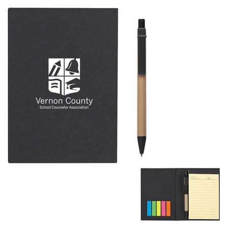 Meeting Mate Custom Notebook With Pen And Sticky Flags