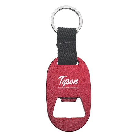 Promotional Metal Key Tag with Bottle Opener