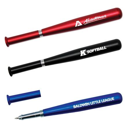 Metallic Baseball Bat Pen