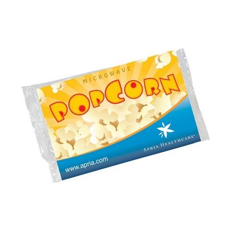 Microwave Popcorn Packs with Custom Label
