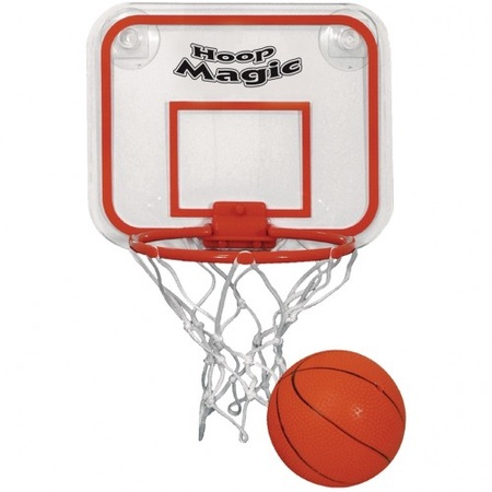 Mini Basketball & Hoop Set with Imprint