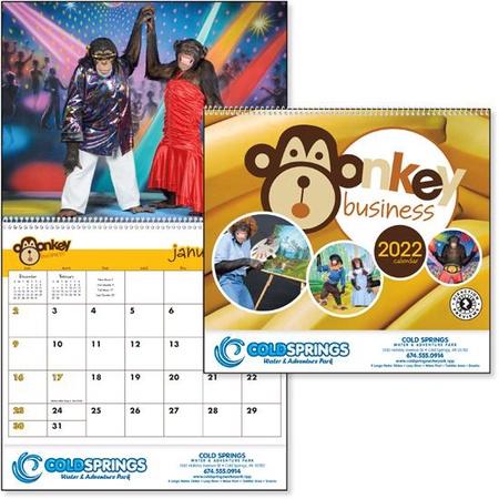 Monkey Business 2022 Promotional Calendars