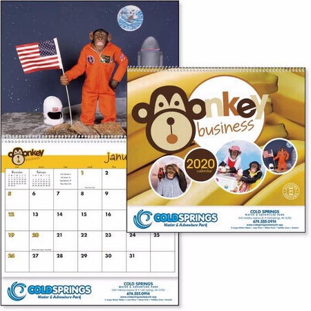 Monkey Business Calendar - 2020
