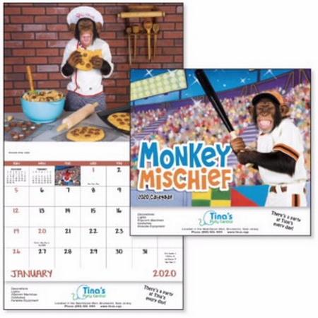 Monkey Mischief Calendar - 2020