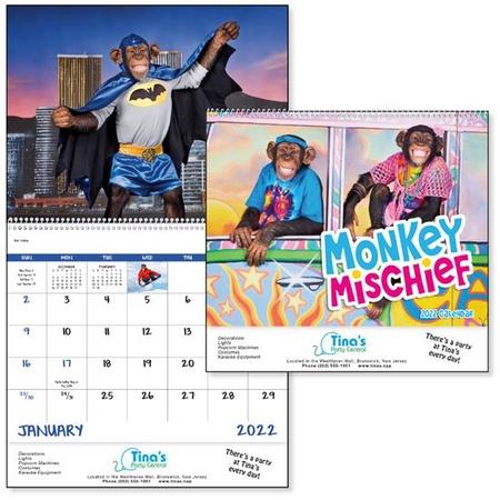 Monkey Mischief Custom Calendars - 2022