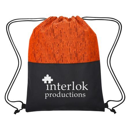 Personalized Montego Drawstring Bag