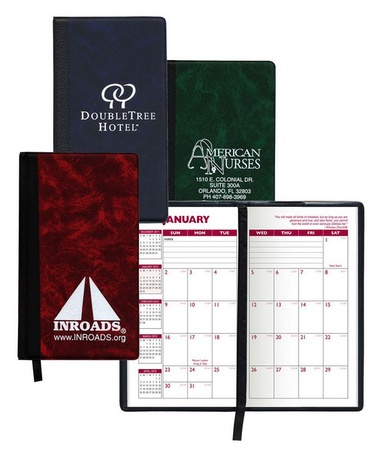 Personalized Monthly Planner with Hard Cover - 2021