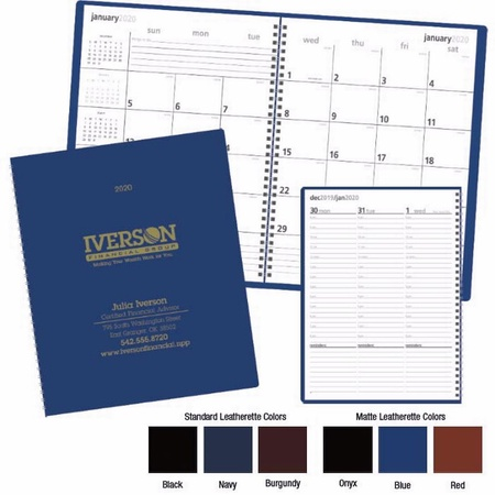 Monthly & Weekly Planner - 2020