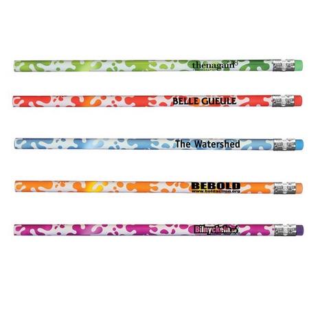 Mood Splash Custom Pencils