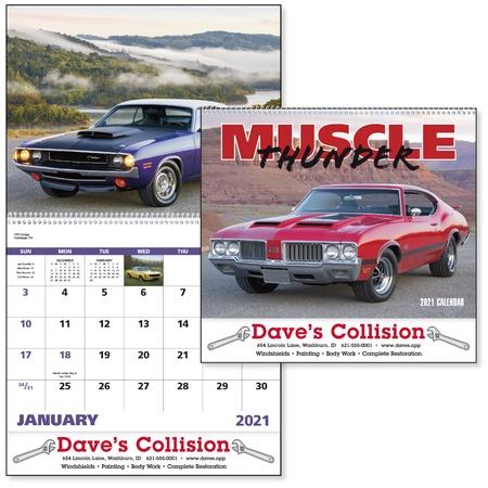 Custom Muscle Thunder Calendar - 2021