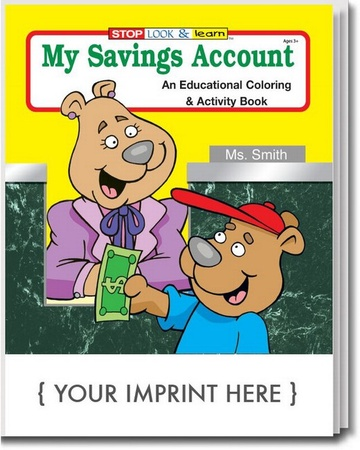 My Savings Coloring & Activity Book