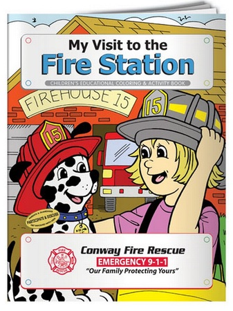 My Visit To The Fire Station Coloring & Activity Book