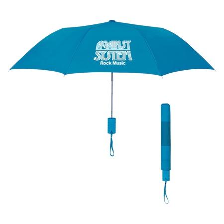 "Neon Telescopic Folding Umbrella - 42"""