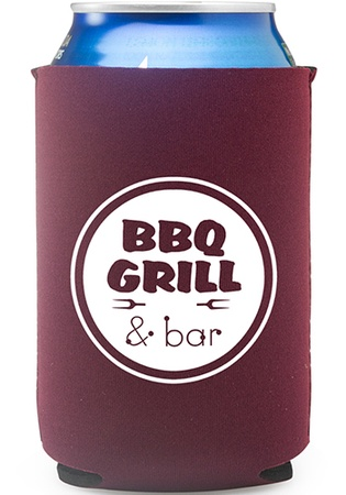 Neoprene Collapsible Promotional Can Coolers