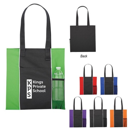 Non-Woven Custom Brochure Tote Bags