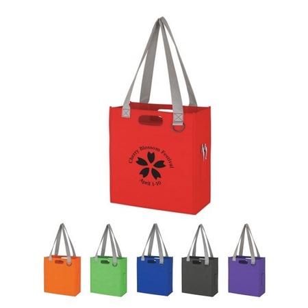 Non-Woven Expedia Custom Tote Bags