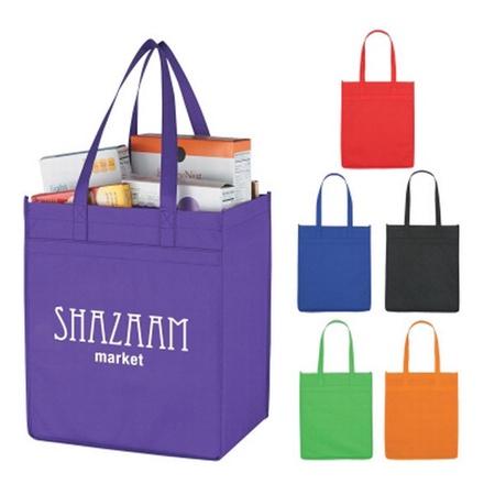 Non-Woven Market Custom Shopper Tote Bags