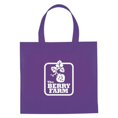 Non-Woven Mini Brochure Custom Tote Bags