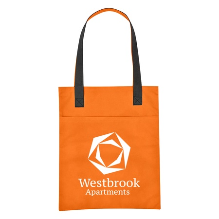 Non-Woven Turnabout Brochure Tote Bag