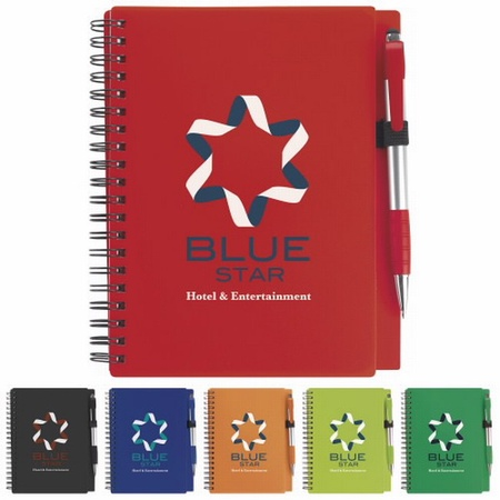 Notebook with Element Stylus Pen
