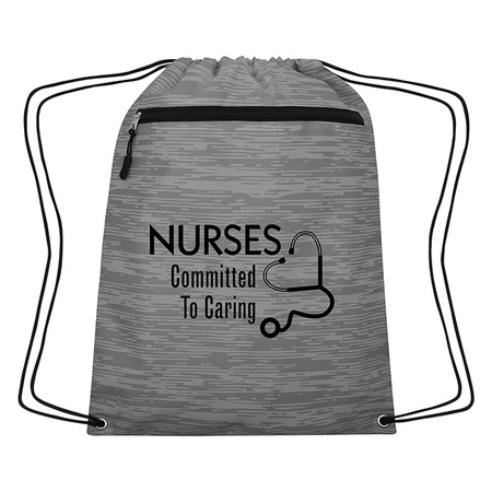 Nurse Appreciation Drawstring Backpack