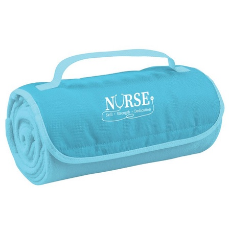 Nurse Appreciation Roll-Up Blanket