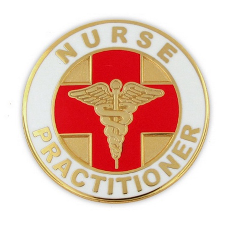 Nurse Practitioner Lapel Pin