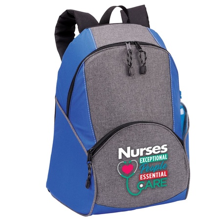 Nurses: Exceptional People, Essential Care Backpack Gift