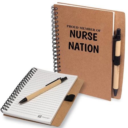 Nurses Notebook with Pen