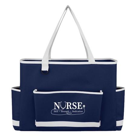 Nurses Pocketed Tote Bag