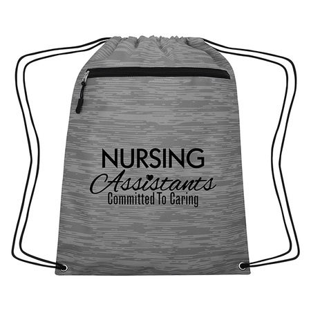 Nursing Assistants CNA Appreciation Drawstring Backpack