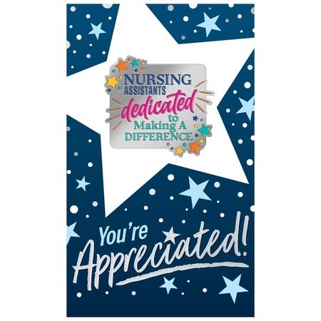 Nursing Assistants: Dedicated To Making A Difference Lapel Pins