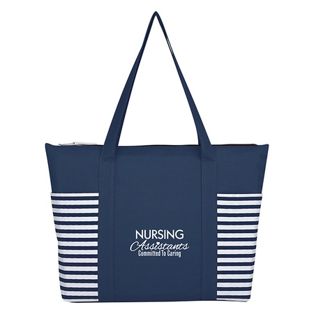 Nursing Assistants Maritime Tote Bag Gift