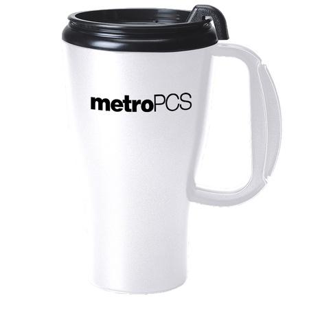 Omega Custom 16 oz. Travel Mugs with Slider Lid