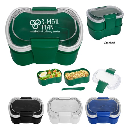 On-The-Go Convertible Lunch Set with Logo
