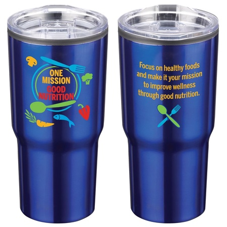One Mission Good Nutrition Steel Travel Tumbler Gift