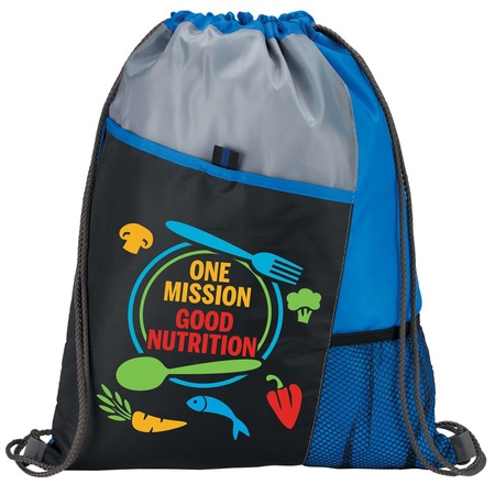 One Mission Good Nutrition Drawstring Backpack Gifts