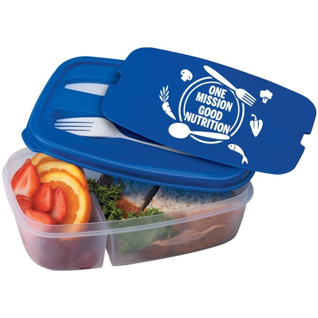 One Mission Good Nutrition 2-Section Meal Container Gifts