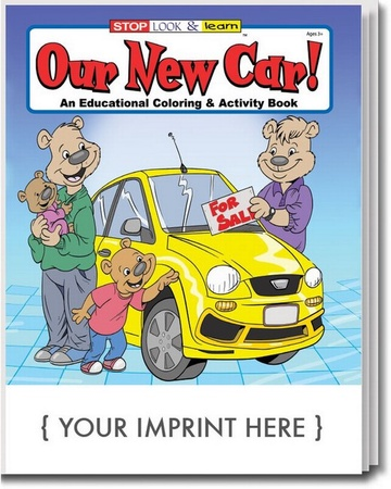 Our New Card Coloring & Activities Book