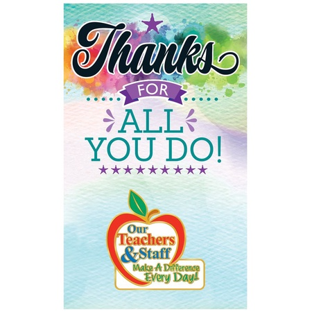 Our Teachers & Staff Make A Difference Lapel Pins