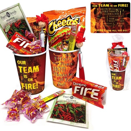 'Our Team Is On Fire' Employee Gift Cup