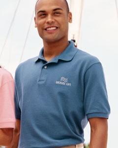 Outer Banks Cotton Pique Polo Shirt