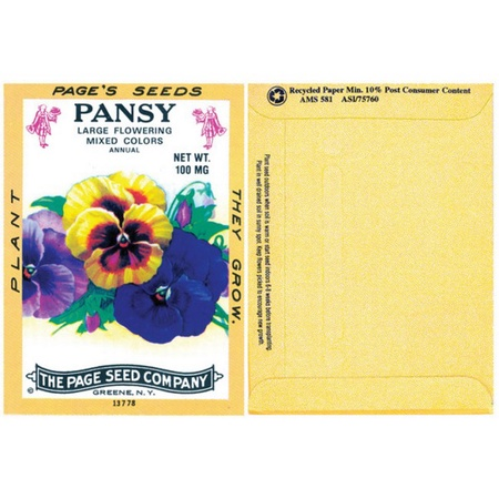 Pansy Seed Packs
