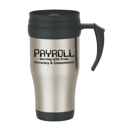 Payroll Appreciation Stainless Steel Travel Mug Gifts