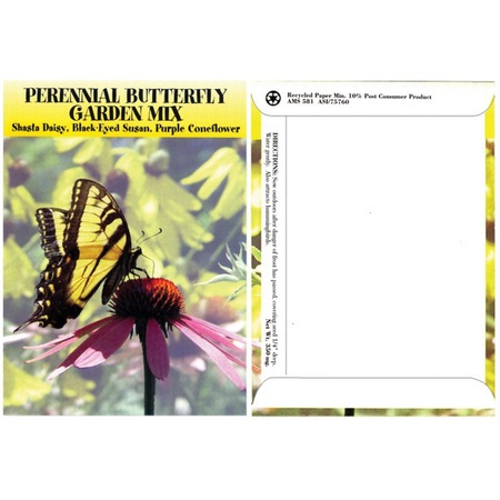 Perennial Butterfly Mix Flower Seed Packs