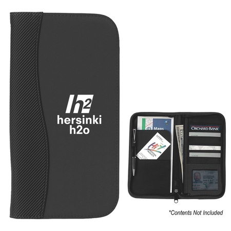 Personalized Microfiber Travel Wallets